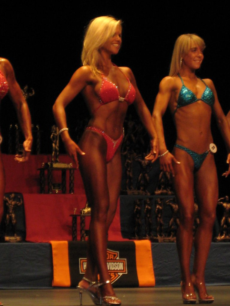 figure competition photo